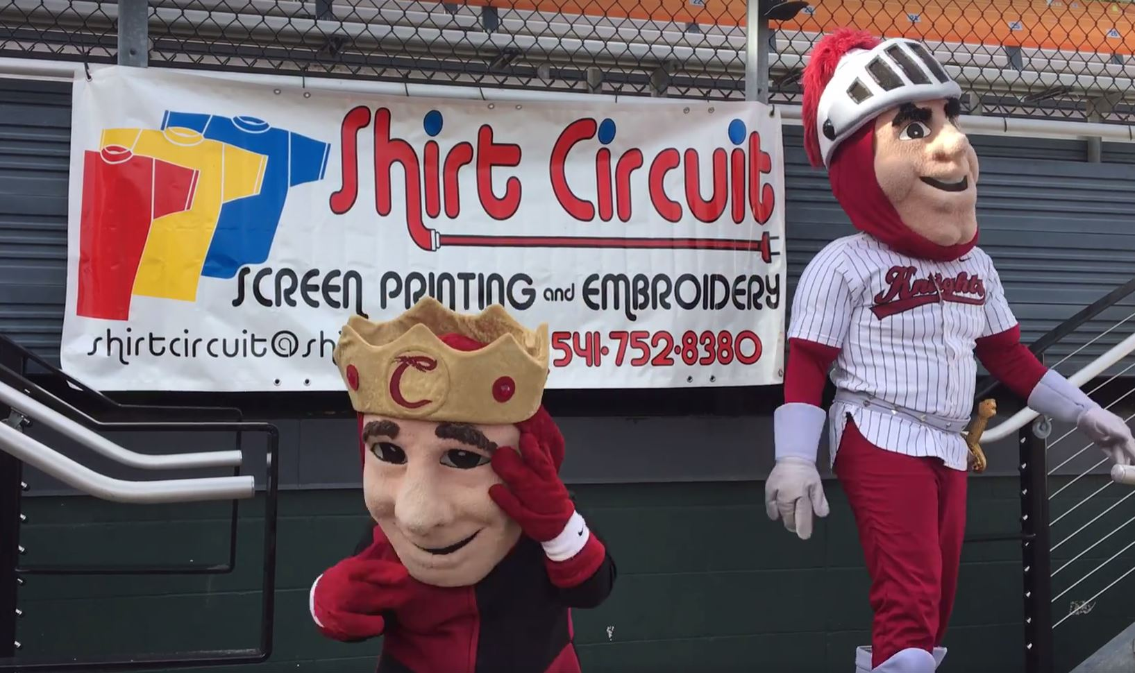 Shirt Circuit Corvallis Knights Promo Video Cover